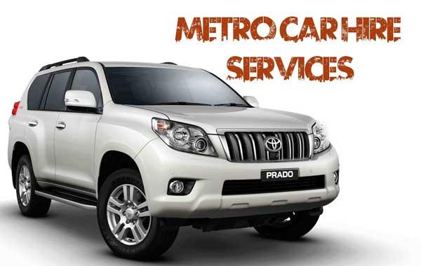 metro car hire services