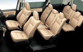 Toyota Noah interioi, hire toyota noah at ksh.5500 per day
